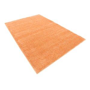 Truett Orange Area Rug