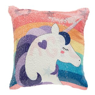 6d438d81365b Elliana Unicorn Throw Pillow. by Zoomie Kids