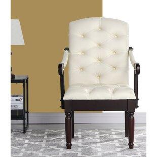 Diamondback Traditional Upholstered Dining Chair