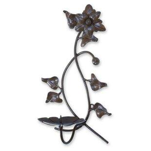 Floral Wrought Iron Dish  sc 1 st  Wayfair & Wrought Iron Plate Holder | Wayfair