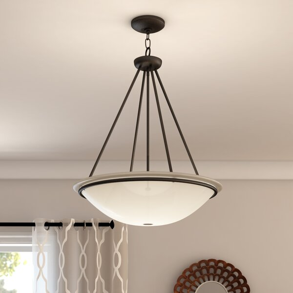 Alcott Hill Larchmont Inverted Pendant Amp Reviews Wayfair