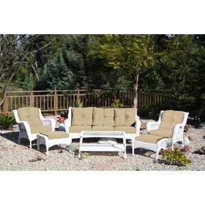 Herrin 6 Piece Sofa Set with Cushions
