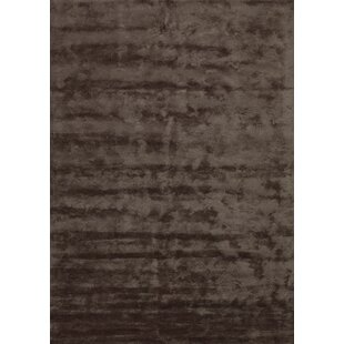 Rayon from Bamboo Brown Area Rug by Angelo