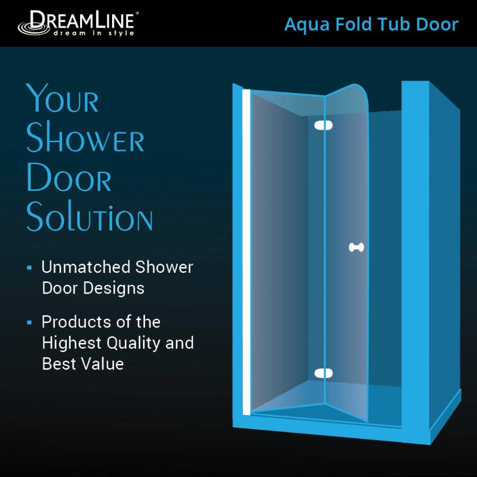 Dreamline Aqua Fold Tub Door