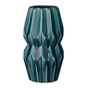 Modern Contemporary Teal Vase