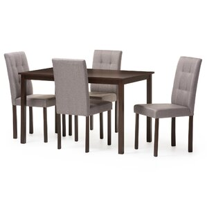 Baxton Studio 5 Piece Dining Set by Wholesale Interiors