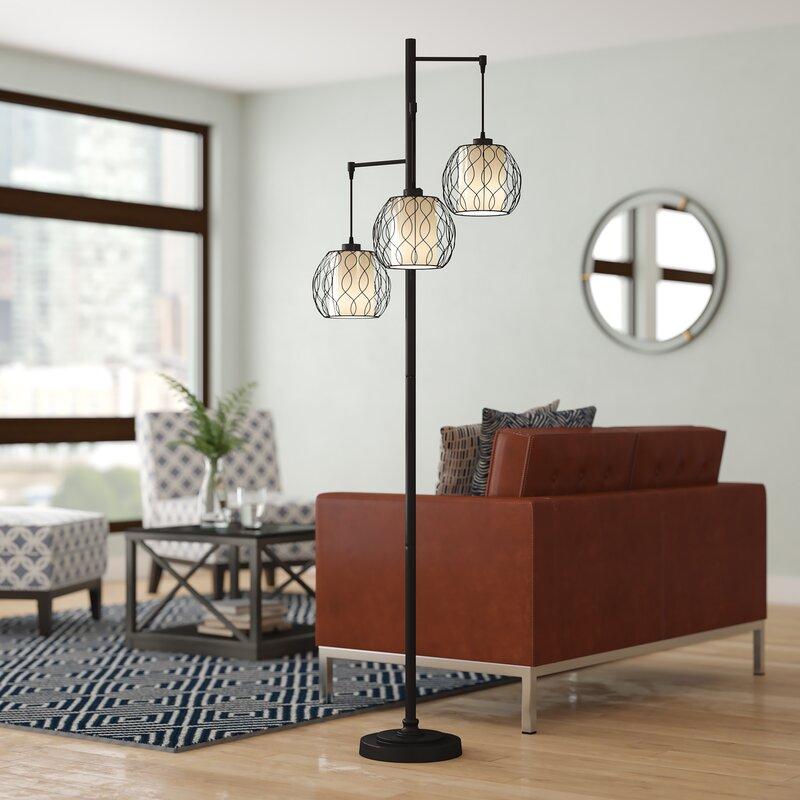 """Ivy Bronx Bairdstown 72"""" Tree Floor Lamp & Reviews"""