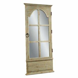 Cleora Rectangle French Door Leaner Mirror