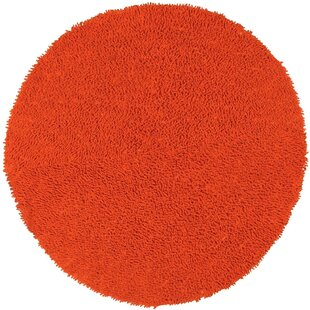 Baugh Chenille Orange Area Rug