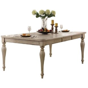 Ryleigh Wooden Top Extendable Dining Table