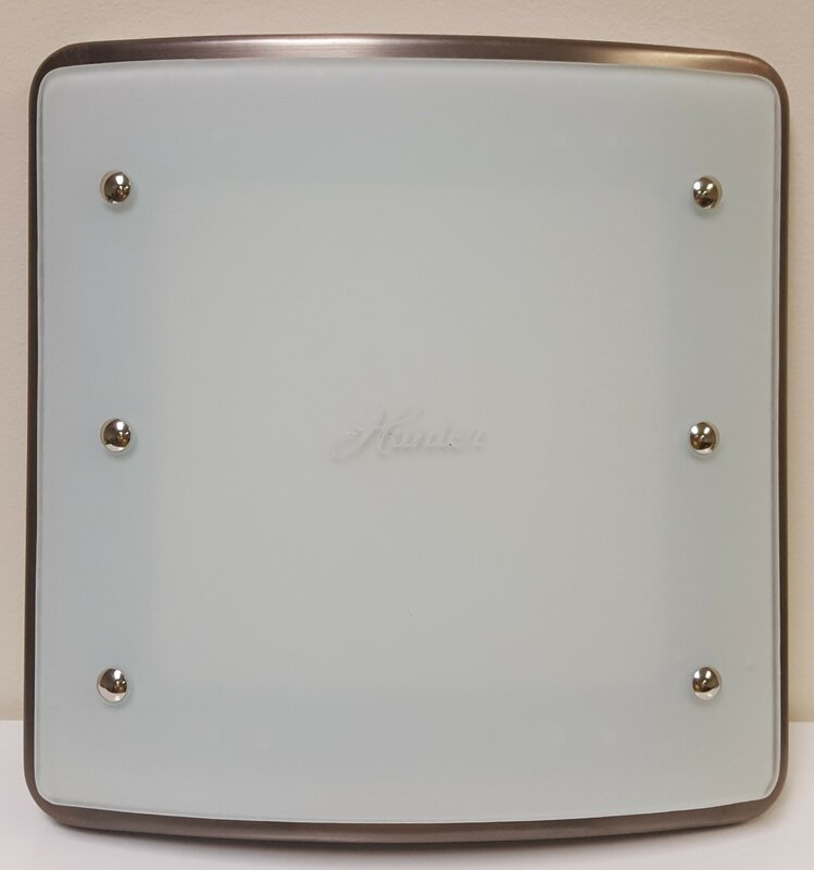 Ellipse 100 CFM Bathroom Fan With Light And Night Light