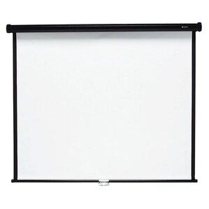 Matte White Manual Projection Screen