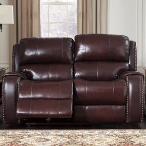 Oreana Power Reclining Loveseat by Darby Home Co