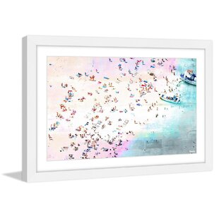 U0027Fun And Sunu0027 By Parvez Taj Framed Painting Print