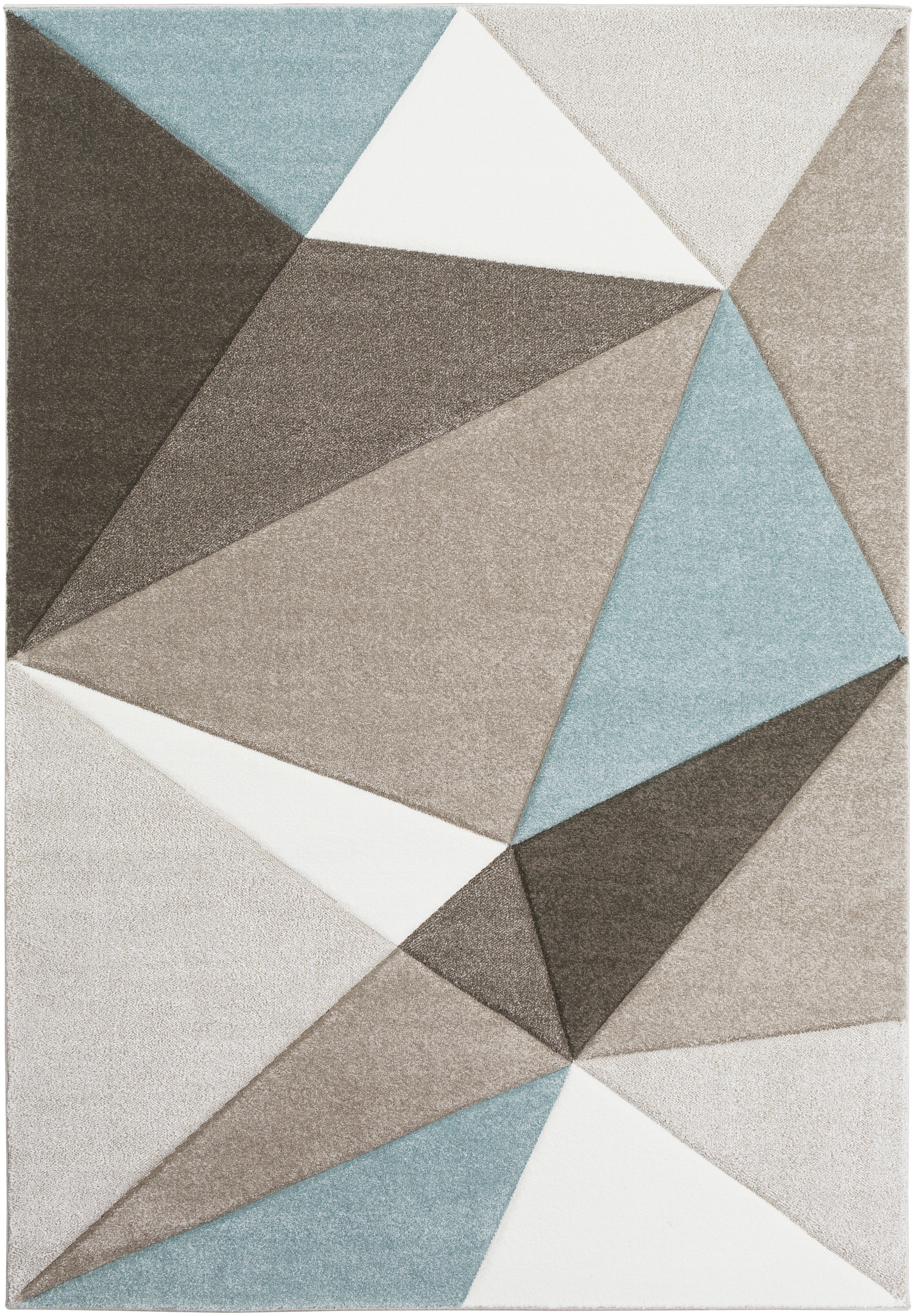 Cheeseman Gray Blue Brown Area Rug