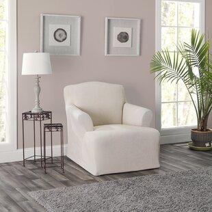 Twin Box Cushion Armchair Slipcover