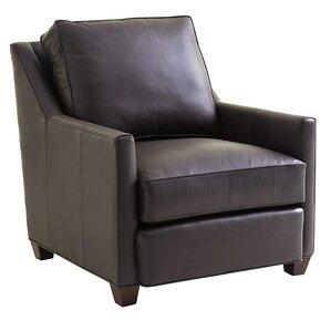 Zavala Venturi Leather Armchair by Lexington