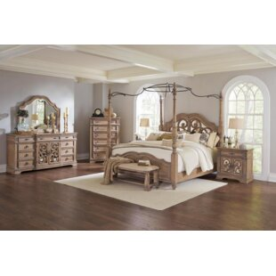Antonie Canopy Configurable Bedroom Set
