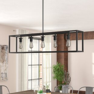 Island pendant lighting Rustic Raeann 5light Kitchen Island Pendant Wayfair Pendant Light Wayfair