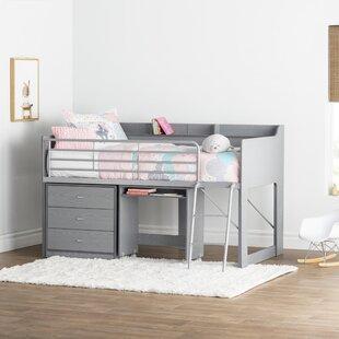 Desk Loft Kids Beds Youu0027ll Love In 2019 | Wayfair