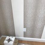 york wallcoverings glam damask 33 39 x 20 5 wallpaper roll. Black Bedroom Furniture Sets. Home Design Ideas