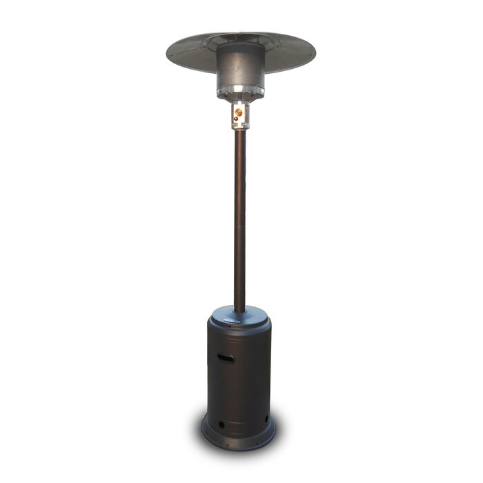 btu verity patio stainless ss outdoor propane portable crown heater steel