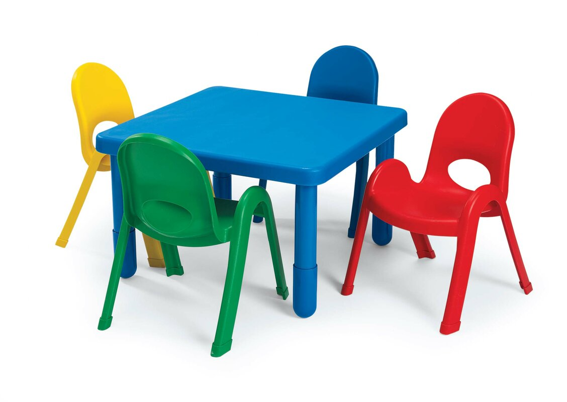 Kids Table and Chair Set  sc 1 st  Wayfair & Angeles Kids Table and Chair Set \u0026 Reviews | Wayfair
