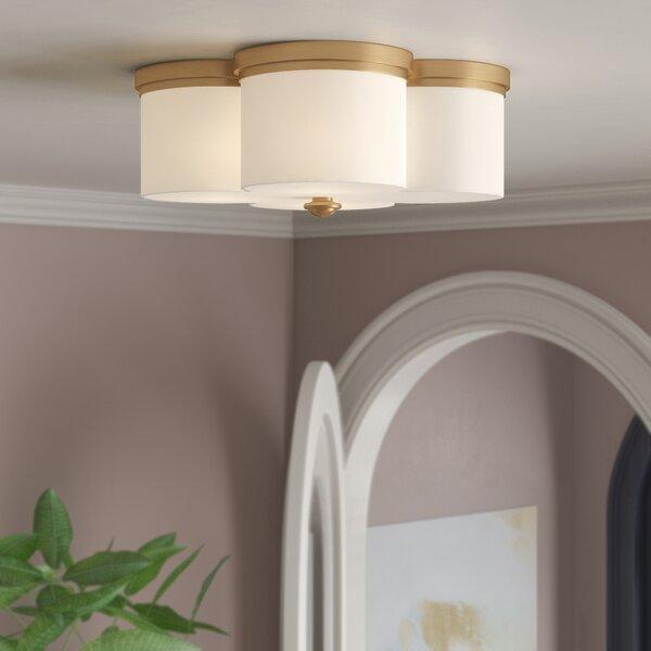 Willa Arlo Interiors Destan 2 Light Flush Mount Amp Reviews