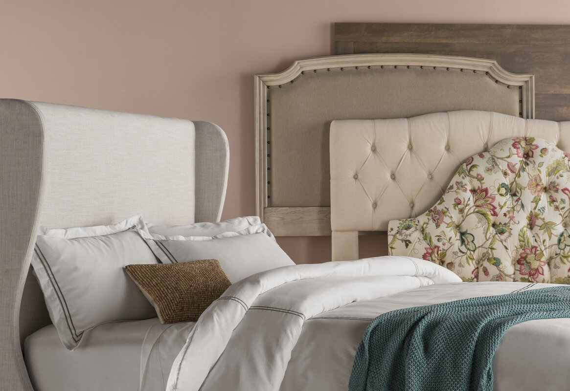 Wayfair Upholstered Bed Home Wayfair Upholstered Bed King: Three Posts Cleveland Upholstered Panel Headboard