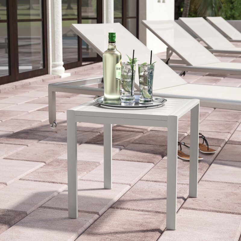 Orren Ellis Houston Side Table Wayfair Classy Houston Outdoor Furniture Property