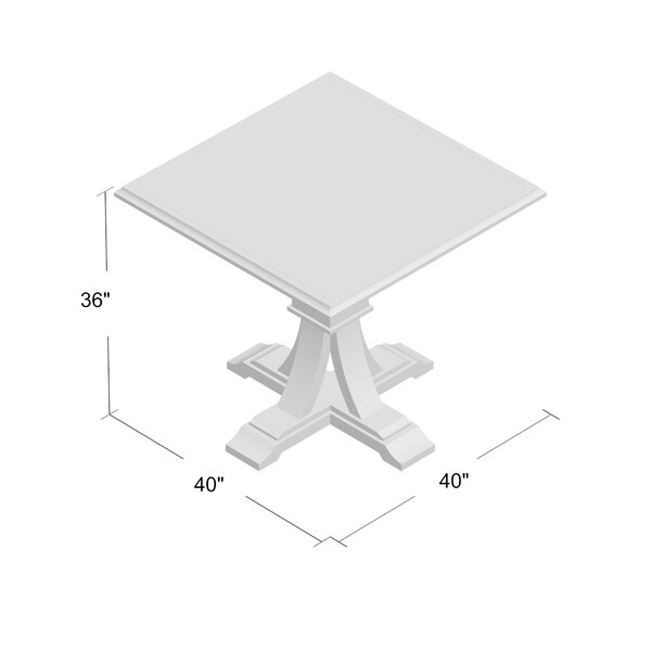 Parfondeval Square Counter Height Dining Table