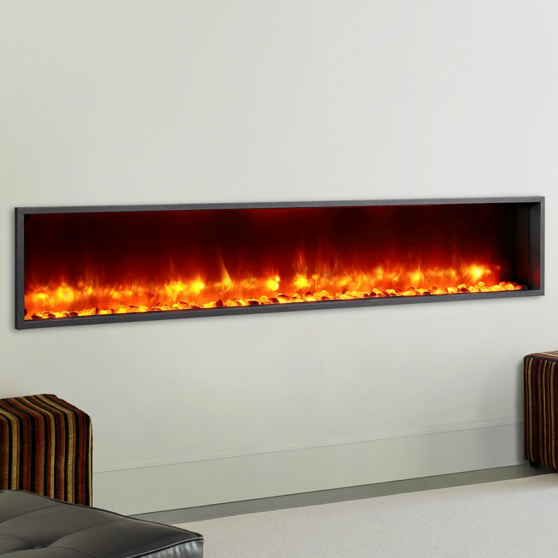 Led Wall Mounted Electric Fireplace
