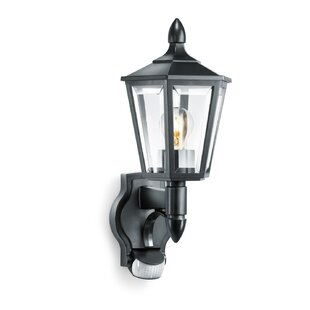 1 Light Outdoor Wall Lantern With Sensor