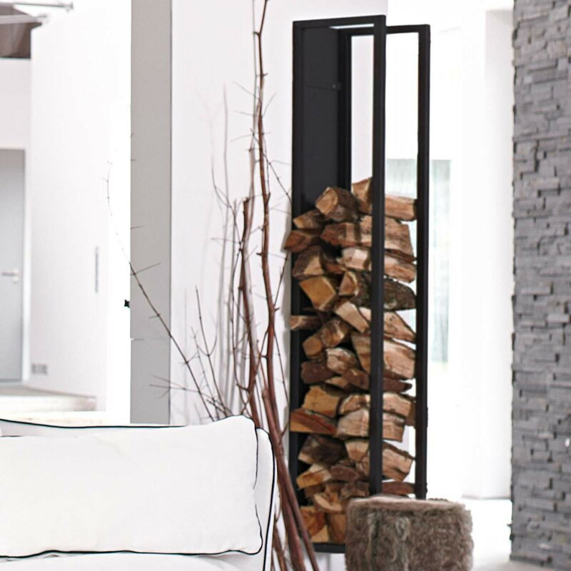 kaminholzregal f r wohnzimmer kaminholzregal wohnzimmer. Black Bedroom Furniture Sets. Home Design Ideas