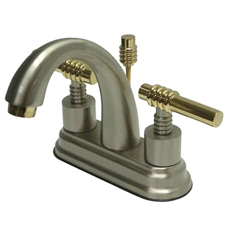 kitchen sink faucets kingston brass centerset bathroom sink faucet with 2702