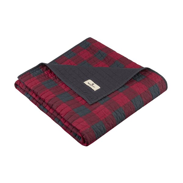 Woolrich Woolrich Check Quilted Cotton Throw & Reviews | Wayfair : woolrich quilted blanket - Adamdwight.com