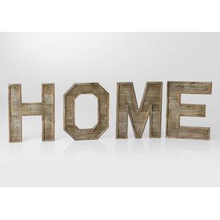Wooden Home Letters Wayfaircouk
