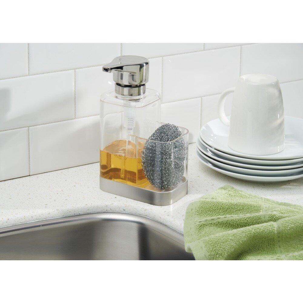InterDesign Bruschia Soap Dispenser Pump and Sponge Caddy & Reviews ...