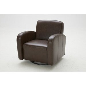 Commonwealth Swivel Club Chair by Kuka Home