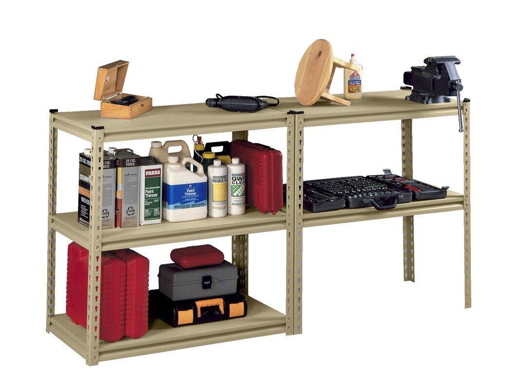 Tennsco stur d store 5 shelf shelving unit starter for Wayfair store