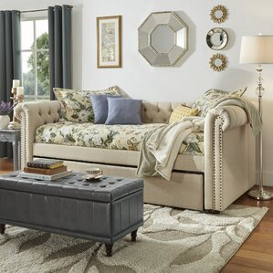 New Britain Daybed with Trundle by Three Posts
