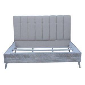 Nova Upholstered Panel Bed by Brayden Studio