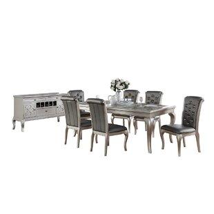 Maddison 8 Piece Extendable Dining Set