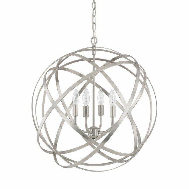 Charmant Kierra 4 Light Globe Pendant