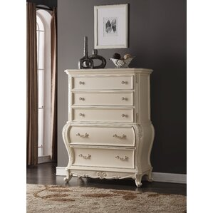 Horne 5 Drawer Chest by Rosdorf Park