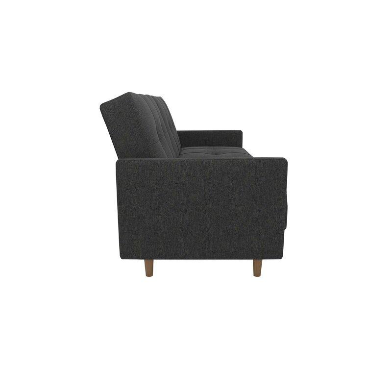 Geraldton Linen Convertible Sofa & Reviews | Joss & Main