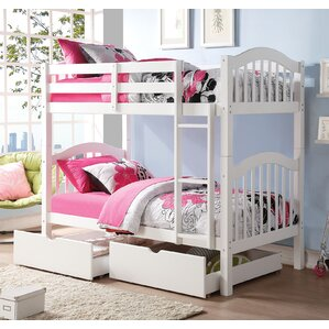 Heartland Over Twin Bunk Bed with Strorage by ACME Furniture
