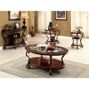 Voorhees 4 Piece Coffee Table Set