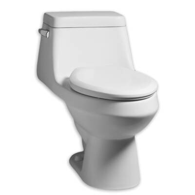 Fairfield 1 28 Gpf Elongated One Piece Toilet Seat Included