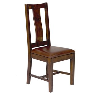 Alessandro Genuine Leather Upholstered Dining Chair